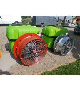 Навесна вентилаторна пръскачка AgroSales 400 литра