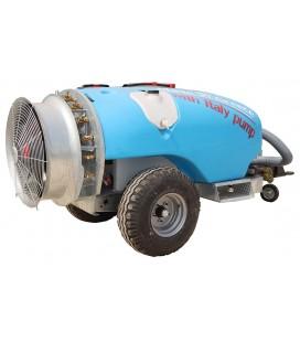 Прикачна вентилаторна пръскачка 2000 литра с Италианска помпа Comet